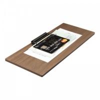 Clipboard nota de plata din lemn de nuc