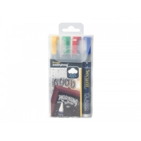Set x4 Marker Creta Medium rezistent la apa 2-7 mm COLOR