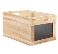 Ladita lemn cu tabla de scris