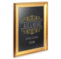 Tabla de scris SECURIT Gold 83x63