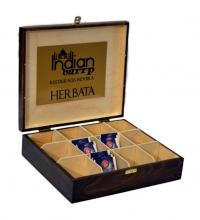 Cutie lemn pentru plicuri ceai / WoodTea Box