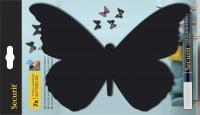 Figurina de perete 3D Butterfly
