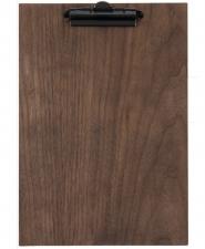 Meniu Clipboard din lemn nuc